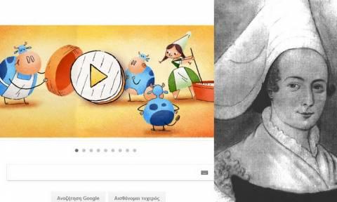 Marie Harel: 256η επέτειος από τη γέννηση της! #GoogleDoodle