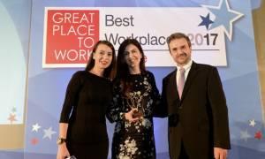 Την δεύτερη υψηλότερη θέση της λίστας Best Workplaces 2017 κατέκτησε η Beiersdorf Hellas