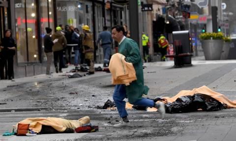 Σουηδία: Στους πέντε οι νεκροί από την τρομοκρατική επίθεση στη Στοκχόλμη