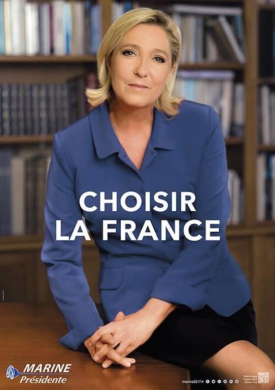 Γαλλία Εκλογές 2017: Αποκαλύπτουμε τα «υπόγεια» μηνύματα στις αφίσες των Λεπέν και Μακρόν (Pics)