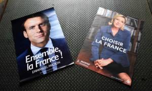 Γαλλία Εκλογές 2017: Αποκαλύπτουμε τα «υπόγεια» μηνύματα στις αφίσες των Λεπέν και Μακρόν