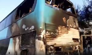 Πάτρα: Αυτός είναι ο φύλακας - άγγελος που έσωσε τα παιδιά από το φλεγόμενο λεωφορείο