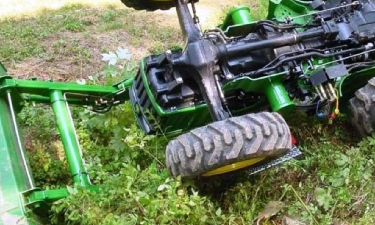 Τραγωδία στην Επίδαυρο: Αγρότης καταπλακώθηκε από τρακτέρ
