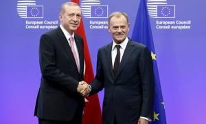 Ο Τουσκ ζητάει συνάντηση με τον Ερντογάν στην προσεχή σύνοδο κορυφής του ΝΑΤΟ