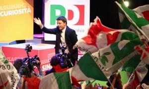 Ιταλία: Σαρωτική νίκη του Ρέντσι - Επιστρέφει στην ηγεσία του Δημοκρατικού Κόμματος (vid)