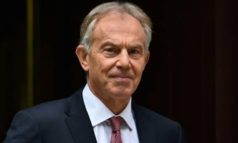 Ο Τόνι Μπλερ επιστρέφει στην πολιτική σκηνή - Θα αγωνιστεί κατά του Brexit