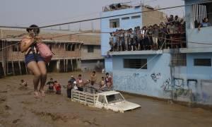 Περού: 133 νεκροί εξαιτίας των πλημμυρών από την αρχή του 2017