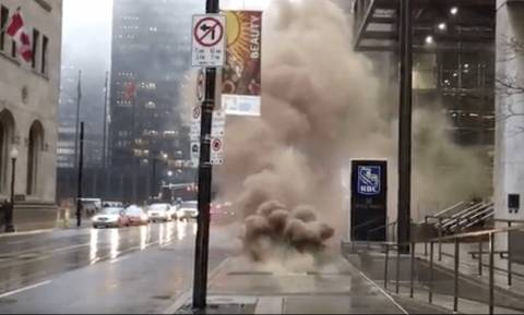 Καναδάς: Ισχυρή έκρηξη στο οικονομικό κέντρο του Τορόντο (videos)