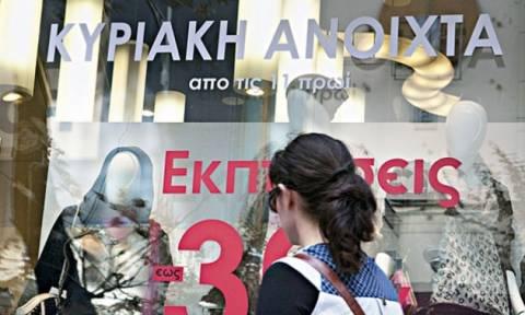 «Πόλεμος» για τα ανοιχτά καταστήματα τις Κυριακές