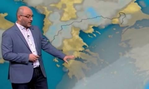 Καιρός: Η προειδοποίηση του Σάκη Αρναούτογλου για 36άρια στις θερμοκρασίες (photo)