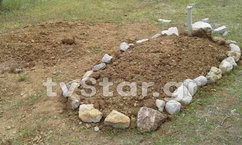 Βοιωτία: Μυστήριο με φρεσκoσκαμμένους τάφους σε χωράφι - Τι συμβαίνει; (vid&pics)