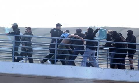Τελικός Κυπέλλου Ελλάδας 2017: Άγρια επεισόδια στον αγώνα ΠΑΟΚ-AEK «σκότωσαν» το ποδόσφαιρο