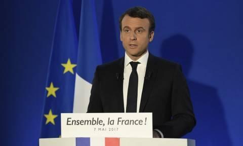 Αποτελέσματα Εκλογές Γαλλία - Μακρόν: Θα υπερασπιστώ τη Γαλλία και την Ευρώπη