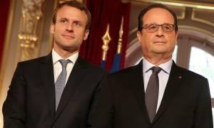 Εκλογές Γαλλία 2017: Συγχαρητήρια Ολάντ στον Μακρόν
