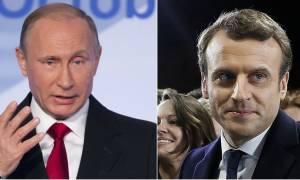 Εκλογές Γαλλία: Συγχαρητήρια και «άνοιγμα» Πούτιν σε Μακρόν