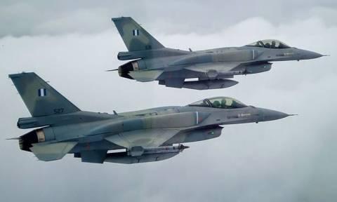 Συναγερμός στο Αιγαίο: Ελληνικά F-16 αναχαίτισαν οπλισμένα τουρκικά μαχητικά