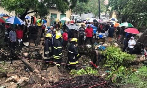 Τραγωδία στην Κένυα: Τουλάχιστον έξι νεκροί από κατάρρευση τοίχου σε νοσοκομείο