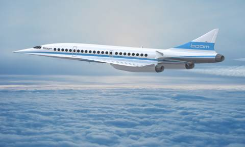 Έρχεται το νέο υπερηχητικό επιβατικό αεροπλάνο Boom, πιο γρήγορο και από το Κονκόρντ (Pics+Vid)