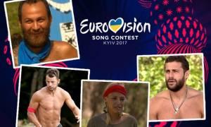 Εurovision VS Survivor: Τι θα τραγουδούσαν οι παίκτες αν συμμετείχαν στο διαγωνισμό;