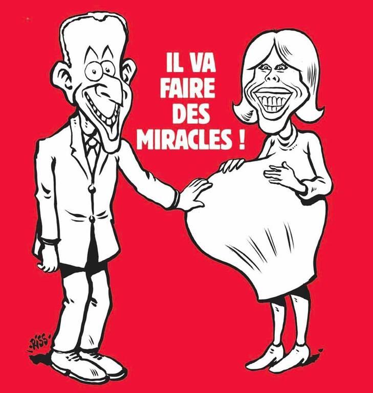 Γαλλία: Σάλος από το νέο εξώφυλλο του Charlie Hebdo για τον Μακρόν (pic)