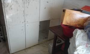 Αποκλειστικές φωτογραφίες: Αυτό είναι το... ντουλάπι που κρυβόταν ο ληστής του Π. Φαλήρου
