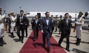 Πεκίνο - Τσίπρας: Ενισχύουμε τη στρατηγική συνεργασία Ελλάδας-Κίνας