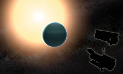 Πρωτόγονη ατμόσφαιρα με νερό και εξωτικά σύννεφα ανακαλύφθηκε γύρω από έναν μακρινό «Ποσειδώνα»