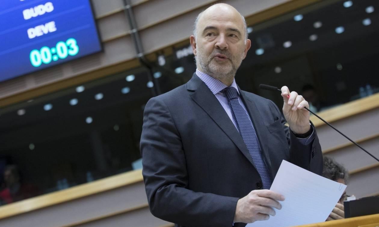 Αισιόδοξος για συμφωνία στο προσεχές Eurogroup ο Μοσκοβισί – Επιμένει στη συμμετοχή του ΔΝΤ