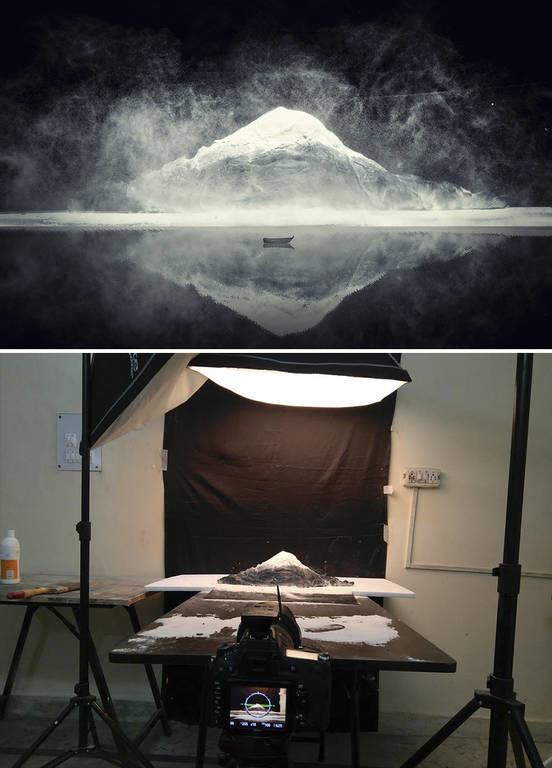 Κι όμως! Αυτές οι εντυπωσιακές εικόνες δεν είναι φωτογραφίες αλλά έργα τέχνης από χαρτί και γύψο
