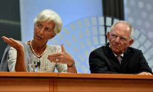 Το ΔΝΤ βάζει το «μαχαίρι στο λαιμό» του Σόιμπλε: Λύση για το ελληνικό χρέος «εδώ και τώρα»
