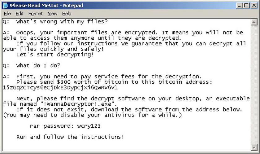 Δίωξη Ηλεκτρονικού Εγκλήματος: Έτσι θα προστατευθείτε από το κακόβουλο λογισμικό «WannaCry» (pics)