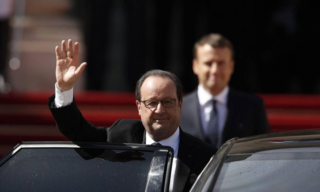 Τέλος εποχής στη Γαλλία: Ο Εμανουέλ Μακρόν ανέλαβε τα προεδρικά καθήκοντά του (Pics+Vids)