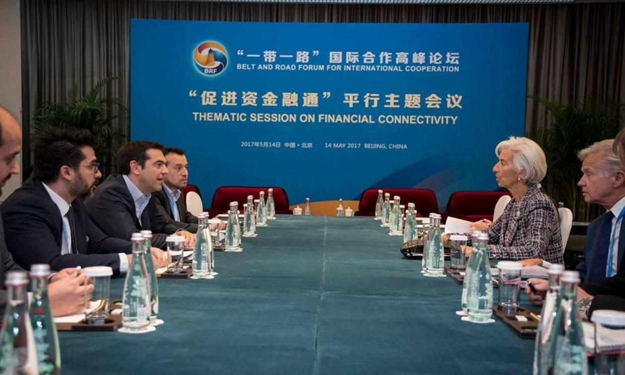 Κίνα: Ανακοίνωση εξέδωσε το ΔΝΤ για τη συνάντηση Λαγκάρντ – Τσίπρα στο Πεκίνο
