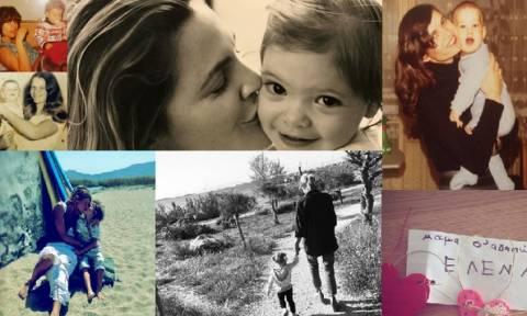 Πώς γιόρτασαν οι διάσημοι τη Γιορτή της Μητέρας: Άλλοι με τη μαμά τους κι άλλοι με τα παιδιά τους