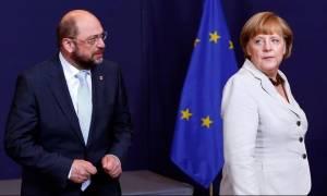 Ο Σουλτς παραδέχθηκε την ήττα του από την Μέρκελ στις εκλογές της Βόρεια Ρηνανίας- Βεστφαλίας