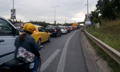 Χάος στους δρόμους της Θεσσαλονίκης