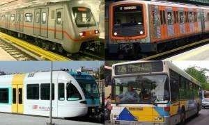 Απεργία: Πώς θα κινηθούν μετρό, ΗΣΑΠ, τρόλει και λεωφορεία την Τετάρτη (17/5)