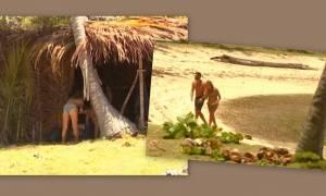 Survivor: Η Ευρυδίκη τάισε τον Βασάλο στο στόμα - Η βόλτα τους στη παραλία