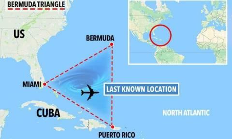 Μία ακόμη μυστηριώδης εξαφάνιση αεροπλάνου στο Τρίγωνο των Βερμούδων