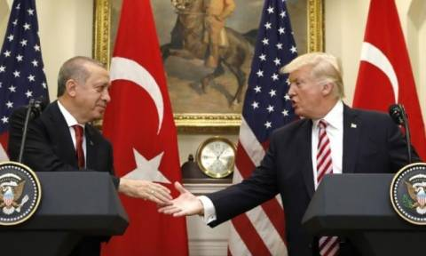 Eρντογάν: Δεν θα δεχτούμε τη συνεργασία ΗΠΑ - Κούρδων στη Συρία (vid)