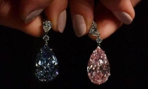 Ξεπερνούν κάθε προσδοκία! Αυτά τα σπάνια διαμάντια «κοστίζουν» 57 εκατ. δολάρια!