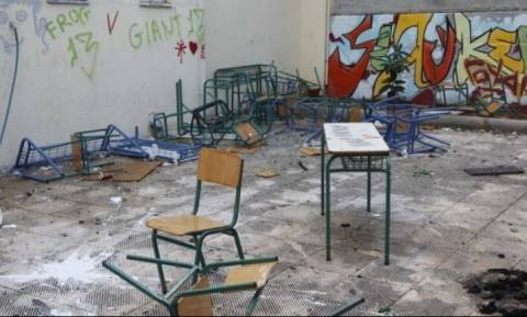 Ανήλικοι βανδάλισαν σχολείο στην Κρήτη!