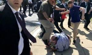 Οι ΗΠΑ αποδοκιμάζουν το επεισόδιο στην Ουάσιγκτον κατά την επίσκεψη του Ερντογάν (vid)