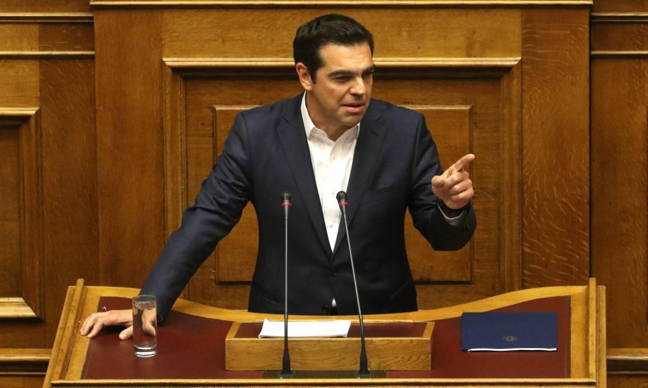 Τσίπρας εναντίον Μητσοτάκη: Θα κρατήσω τις δηλώσεις σας ότι τα αντίμετρα είναι αέρας κοπανιστός