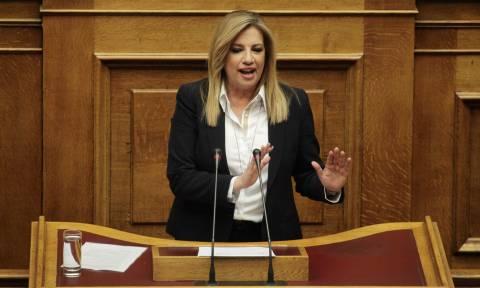 Οργή Γεννηματά κατά Βούτση: Μεθοδεύετε την οργάνωση της συζήτησης στη Βουλή