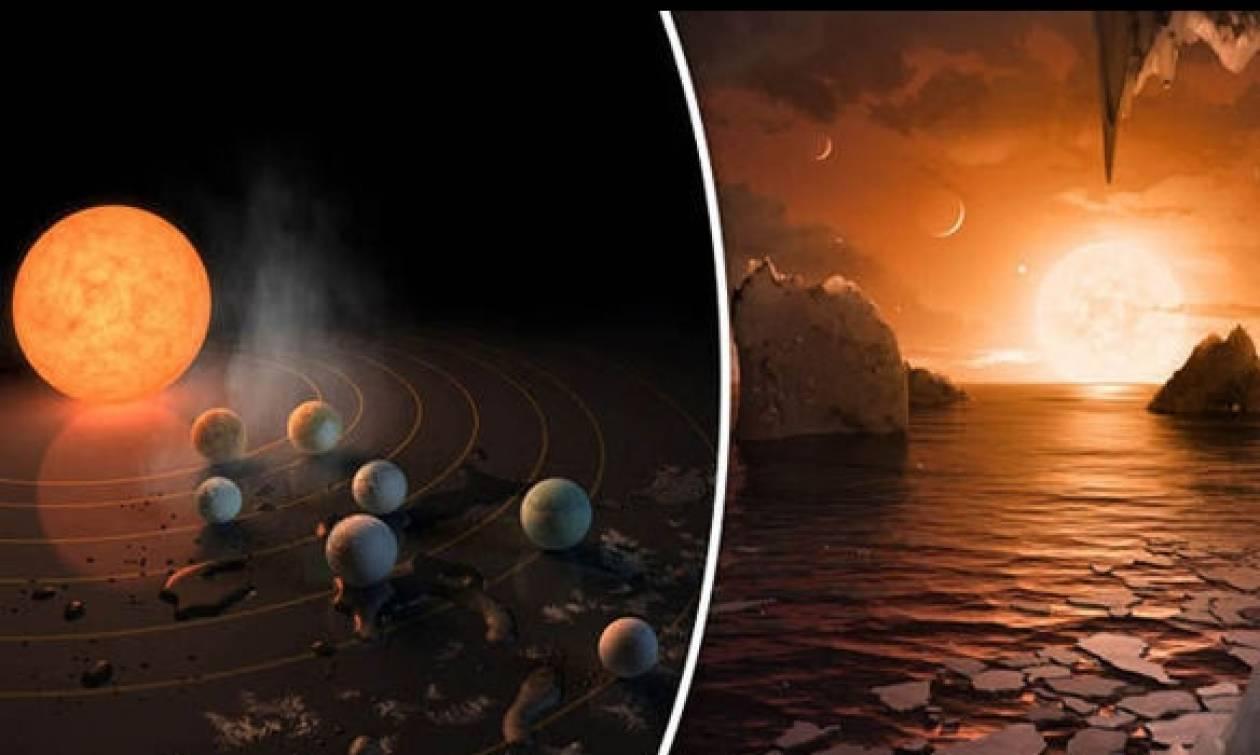 Συγκλονιστικά νέα: Μεγάλες πιθανότητες για εξωγήινη ζωή σε εξωπλανήτες του Trappist-1 βλέπει η NASA