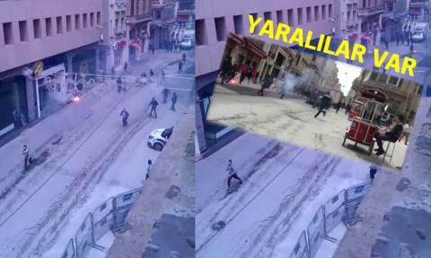 Κωνσταντινούπολη - Ολυμπιακός: Άγριες συμπλοκές και μαχαιρώματα μεταξύ οπαδών (Pics+Vids)