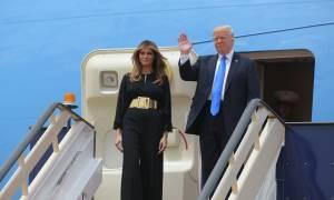 Σαουδική Αραβία: Βασιλική υποδοχή στον Τραμπ (photos)