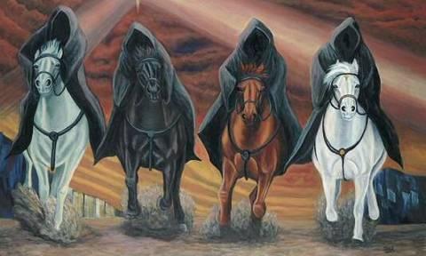 Το άνοιγμα της τρίτης σφραγίδας της Αποκαλύψεως και ο μαύρος καβαλάρης...