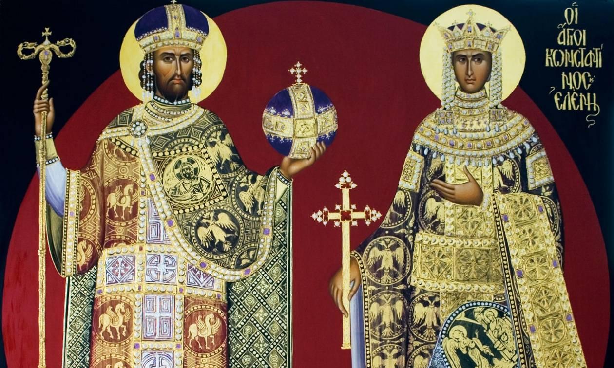 Κωνσταντίνος και Ελένη: Οι Άγιοι που εδραίωσαν τον Χριστιανισμό στην Ευρώπη  - Newsbomb - Ειδησεις - News